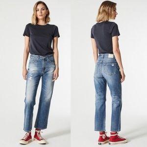 NWOT AG Rhett Vintage High Waist Straight Jeans